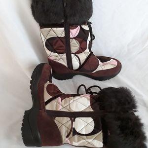 Coach Womens Boots Vibram Fur CC's